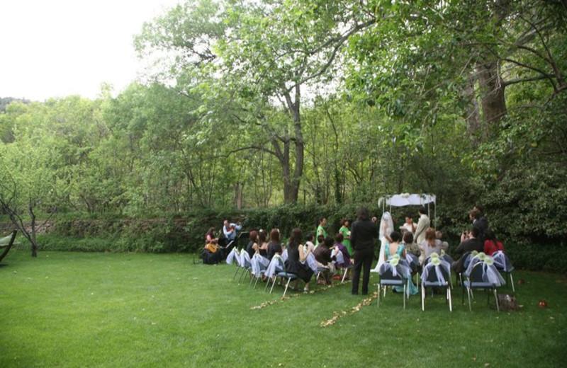 Wedding at Briar Patch Inn.