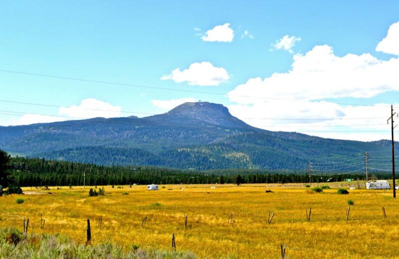 Mountain view at Sawtelle Mountain Resort.