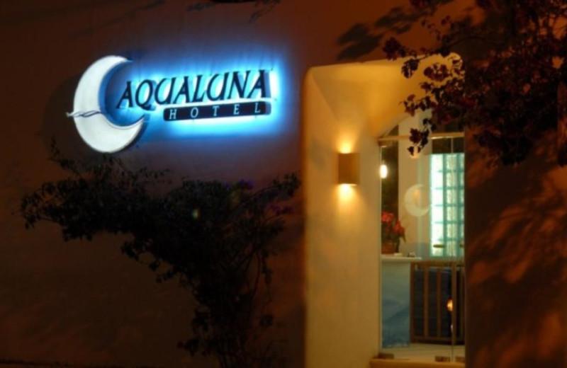 Exterior view of Aqualuna Hotel.