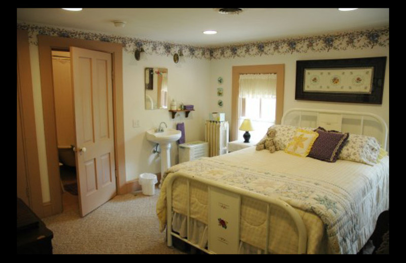 Guest room at Thompson House Bed & Breakfast.