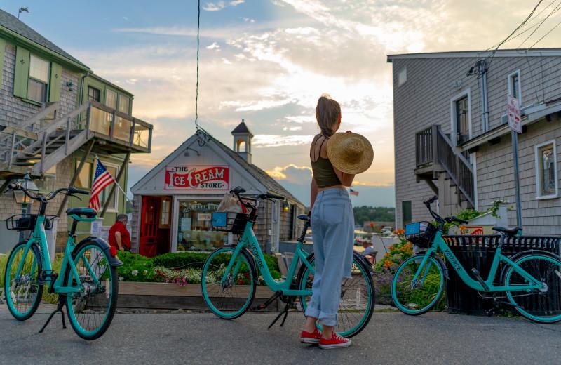 Bike rentals at Addison Choate.