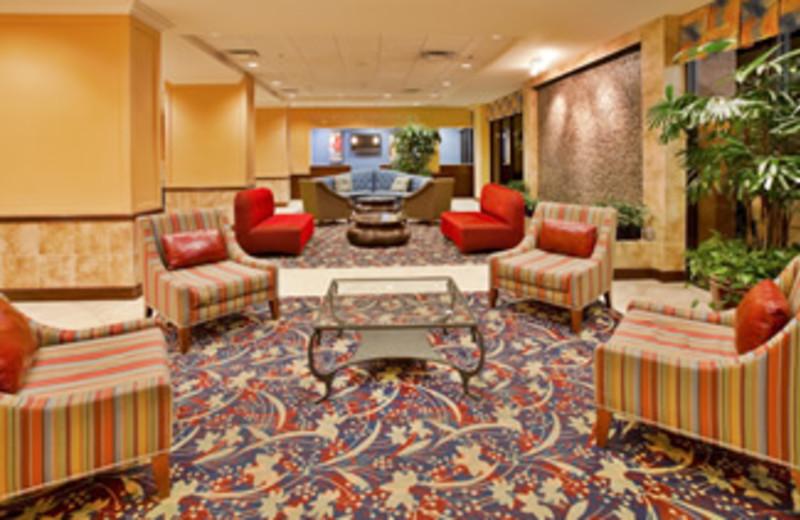 Lobby at Holiday Inn Main Gate East