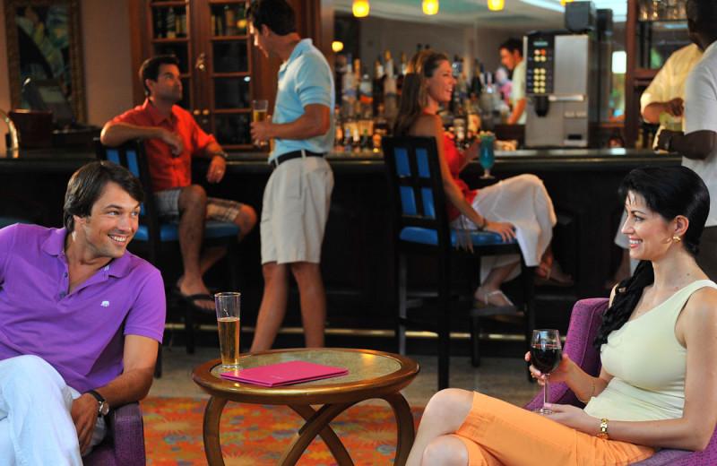 Dining at Atlantis, Paradise Island - Coral Towers.