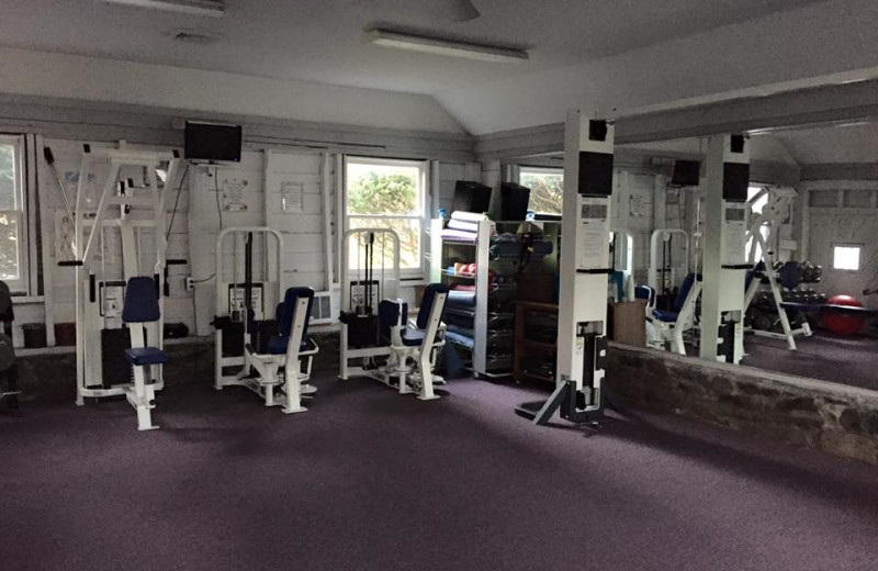 Gym at Deerfield Spa.