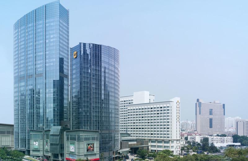 Exterior view of Shangri-La Hotel-Qingdao.