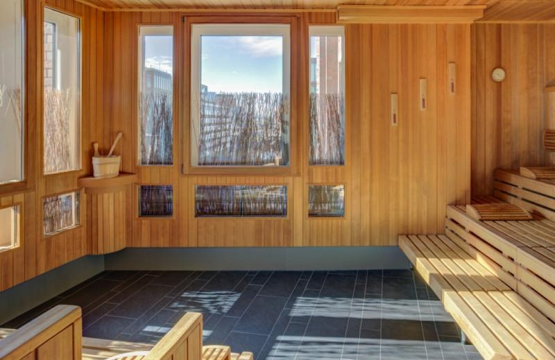 Sauna at Steigenberger Hamburg.