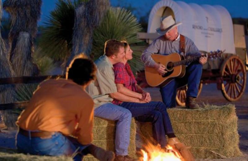 Campfires at Rancho De Los Caballeros.