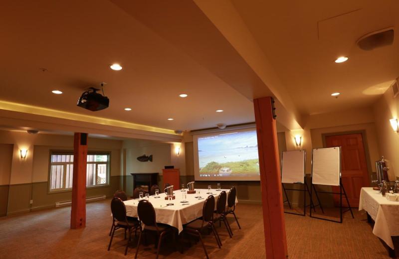 Meeting at Long Beach Lodge Resort.