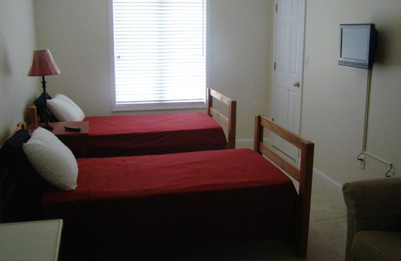 Guest room at Big Bear Resort.