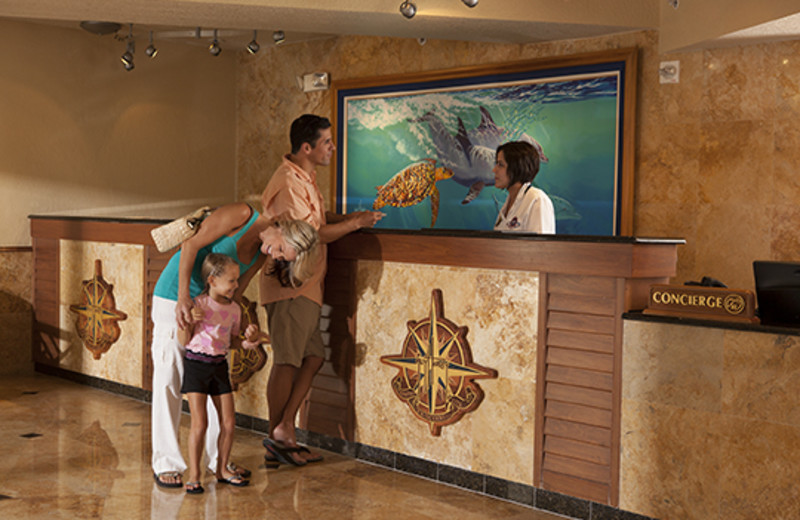 Lobby view at Guy Harvey Outpost.