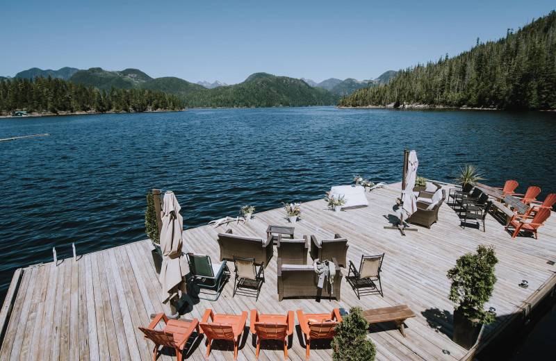 Weddings at Nootka Wilderness Lodge.