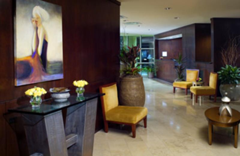 Lobby View at Sheraton Metairie