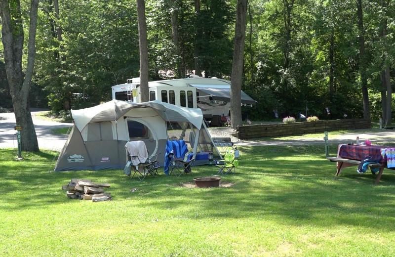 Camping at Yogi at Shangri-La - Jellystone Park.