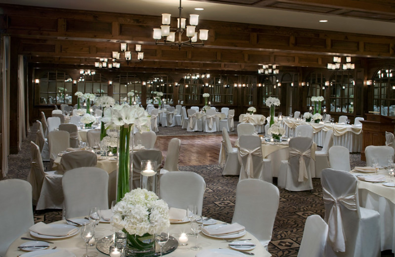 Banquet hall at Pillar and Post.