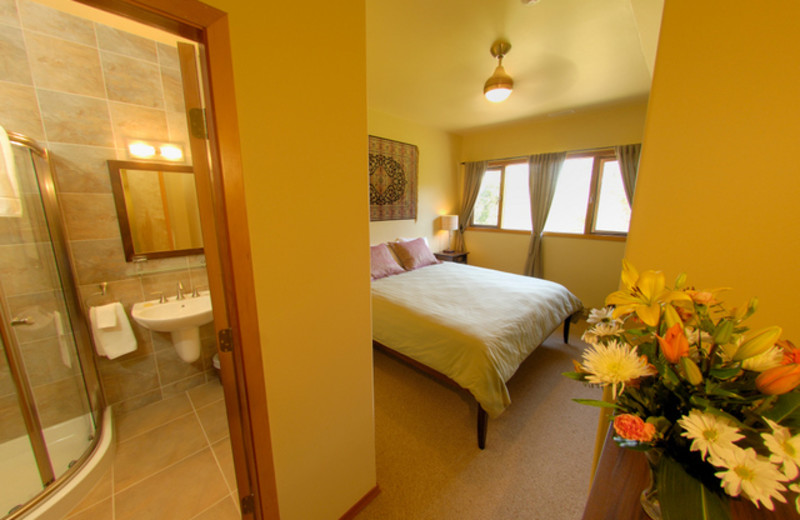 Guest room at Mountain Trek Fitness Retreat & Health Spa.