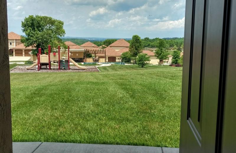 View from LuLas Getaway.