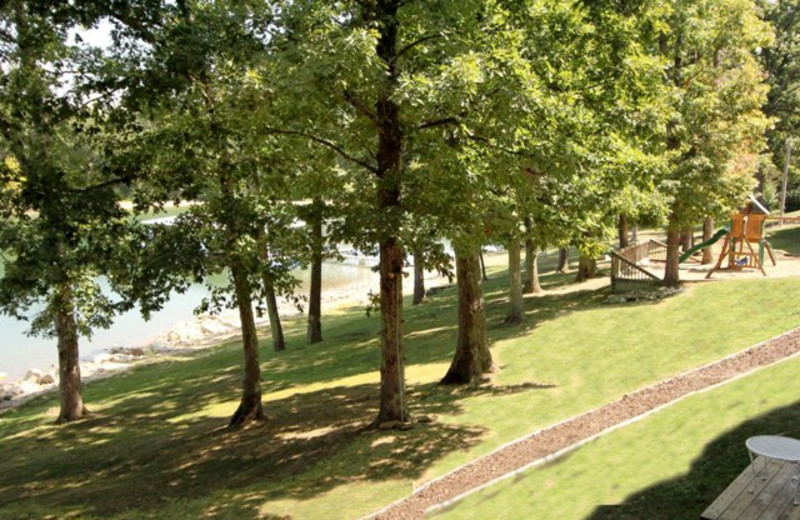 Grounds at Vickery Resort On Table Rock Lake.