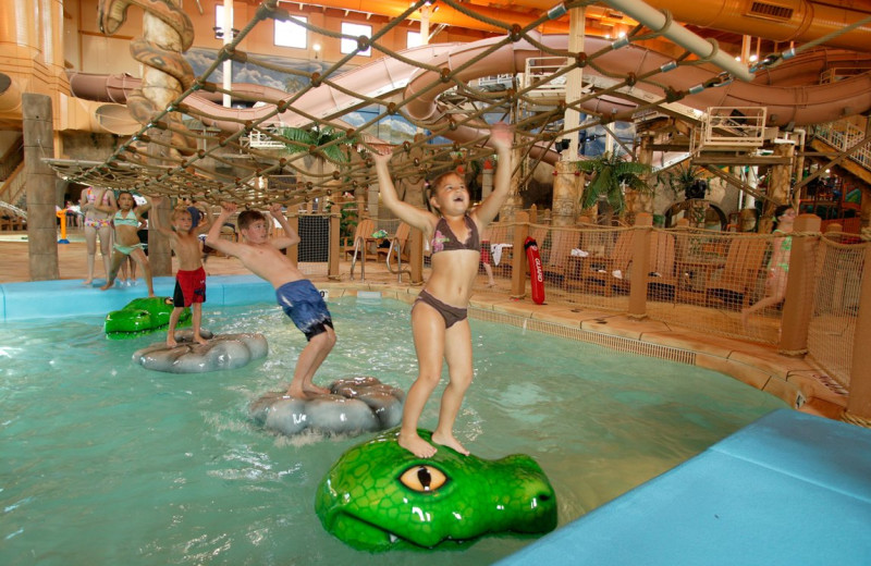 Indoor waterpark at Chula Vista Resort.