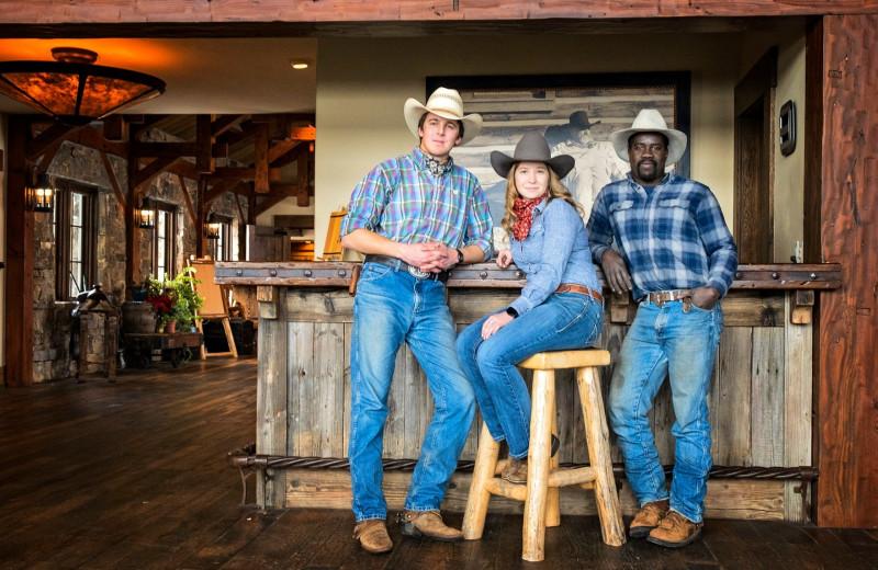 Staff at Vista Verde Ranch.