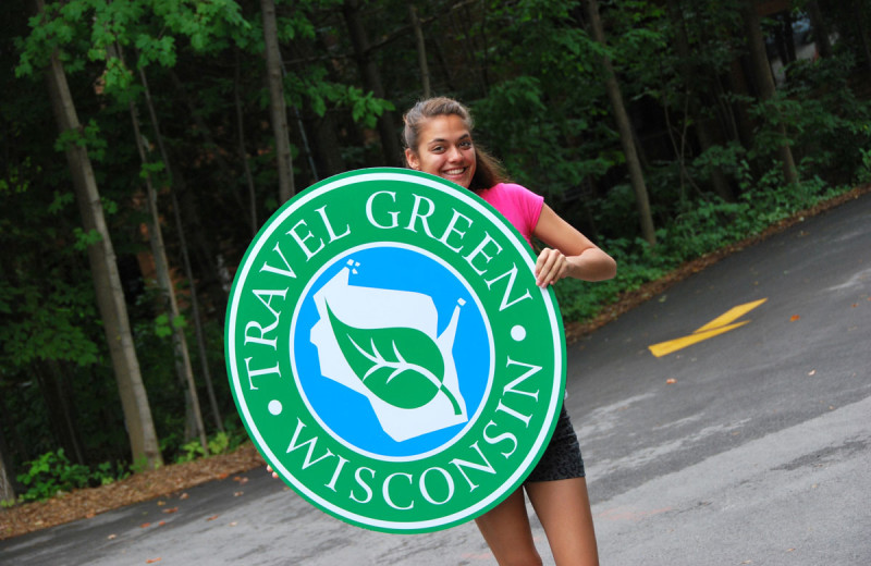 The resort is Travel Green Wisconsin certified.