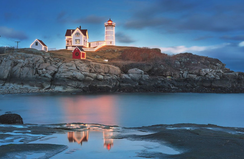 Lighthouse near Anchorage Inn.