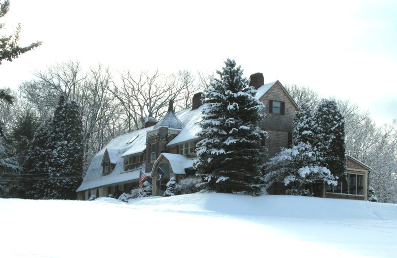 Winter time at Inn At Lake Joseph.