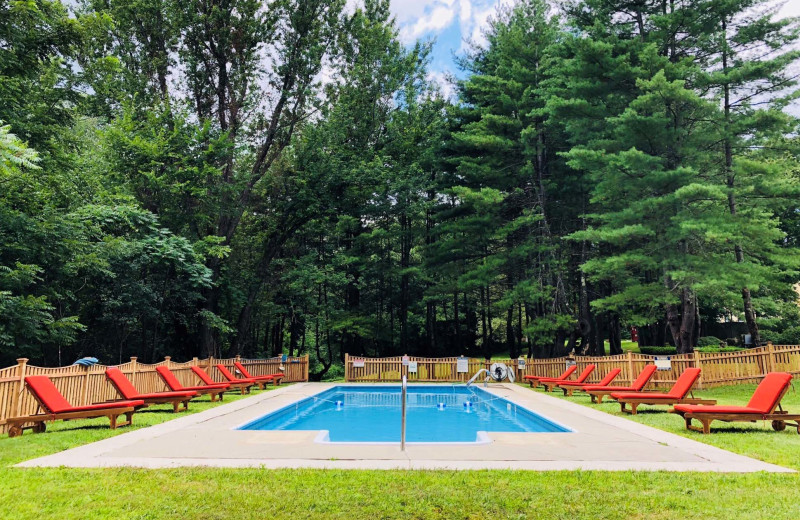 Outdoor pool at Seven Hills Country Inn