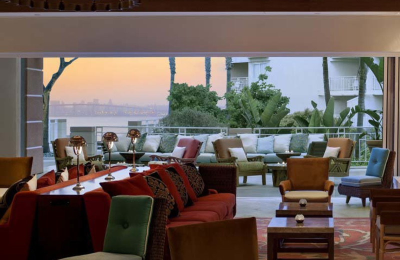 Lounge at Loews Coronado Bay Resort.
