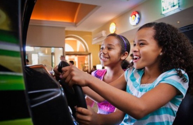Hideaway Arcade at The Westin Mission Hills Resort & Spa.