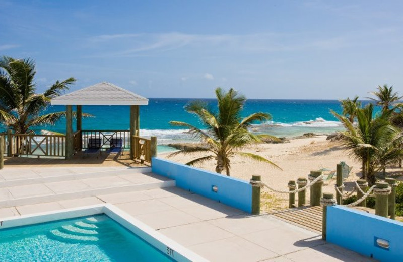Outdoor pool at Stella Maris Resort Club.
