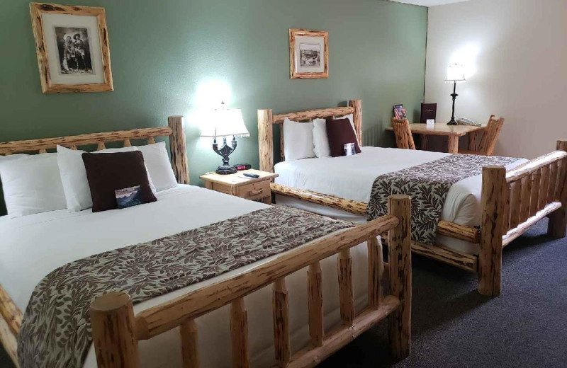 Guest room at Cody Legacy Inn.