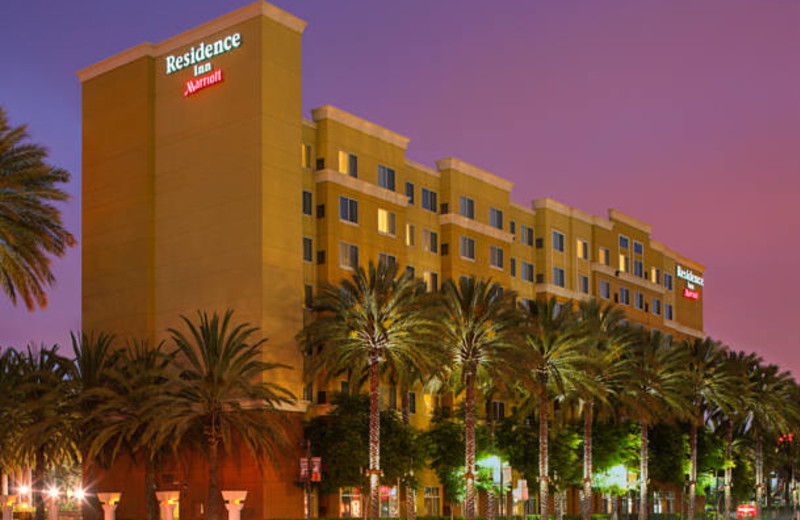 Exterior view of Residence Inn-Anaheim Resort.