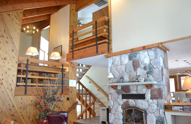 Rental interior at Northwoods Property Management.