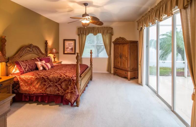 Rental bedroom at CNE Vacation Rental.