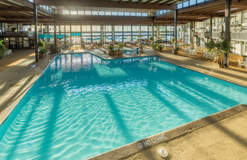 Indoor pool at Cragun's Resort and Hotel on Gull Lake.