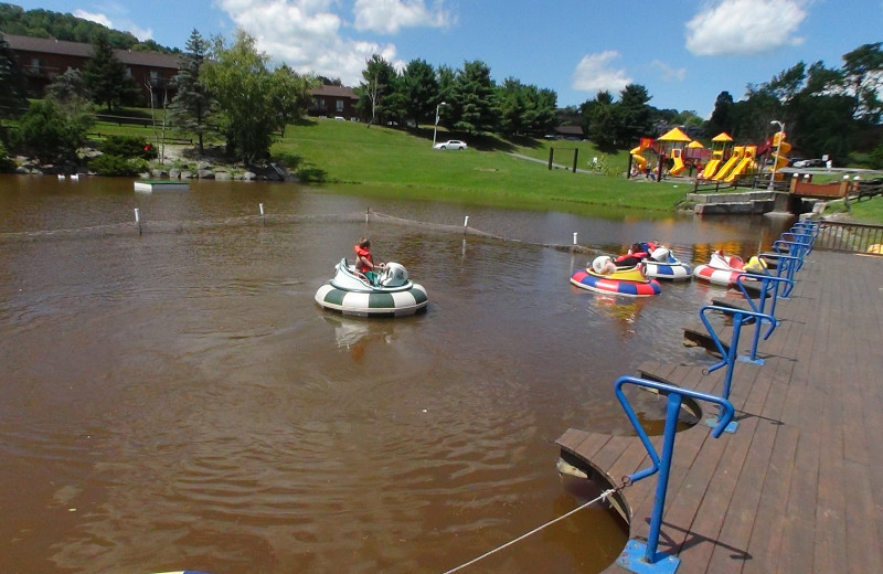 Water activities at Villa Roma Resort.