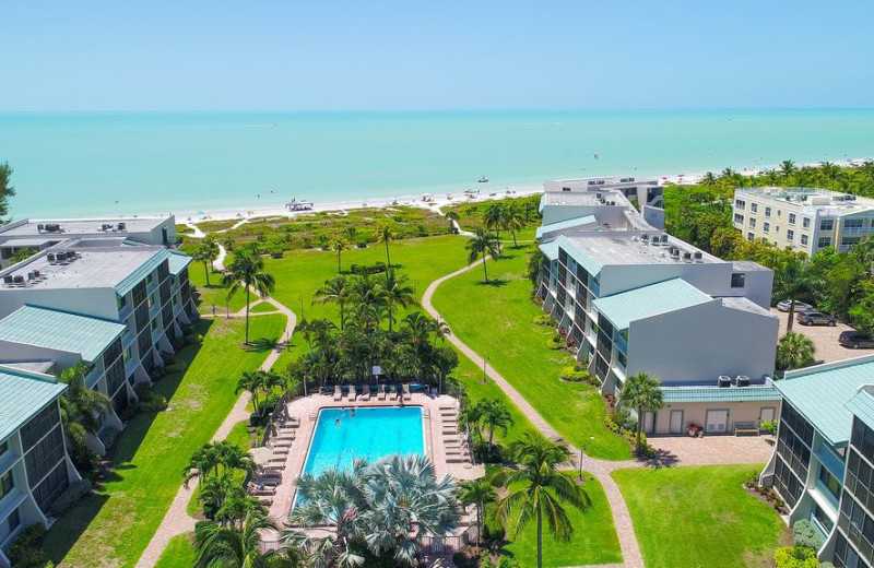 Exterior view or Sanibel Vacations.