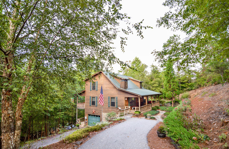 Rental exterior at Little Bear Rentals.