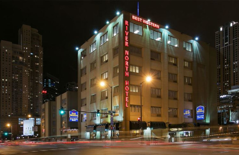 Exterior View of Best Western River North Hotel