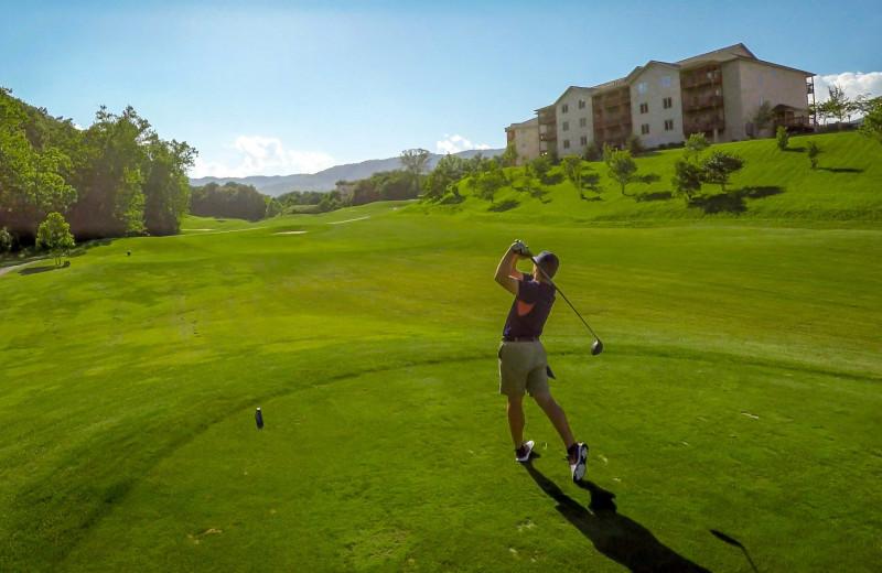 Golf couse at Massanutten Resort.
