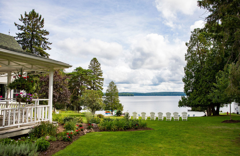 Lake view at Port Cunnington Lodge & Resort.