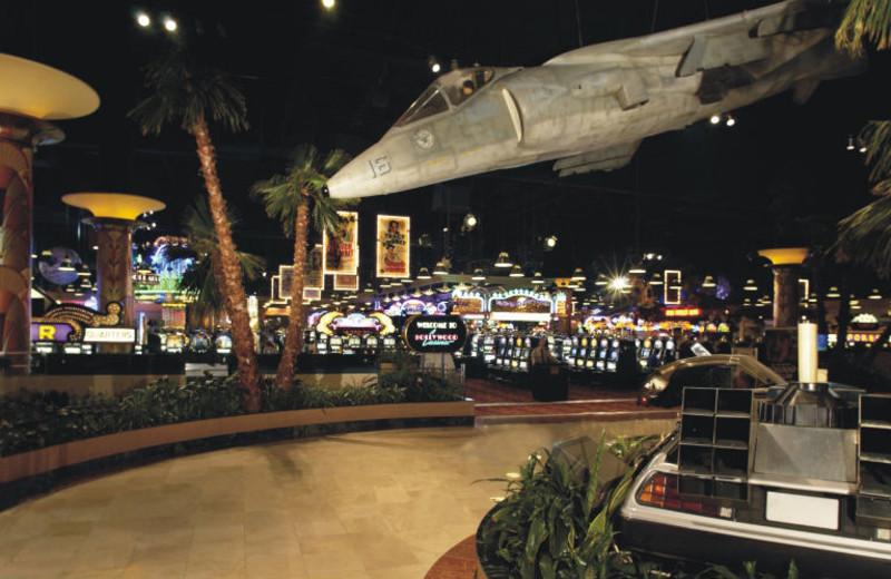 Movie memorabilia at Hollywood Casino Tunica.