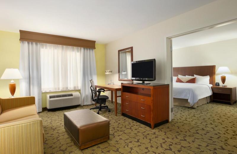 Guest room at Hilton Garden Inn Scottsdale North/Perimeter Center.