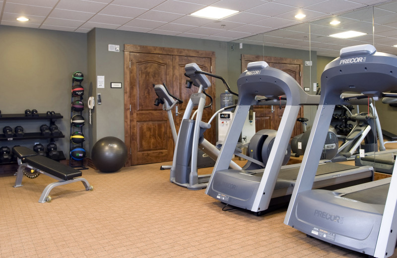 Fitness center at BlueSky Breckenridge.