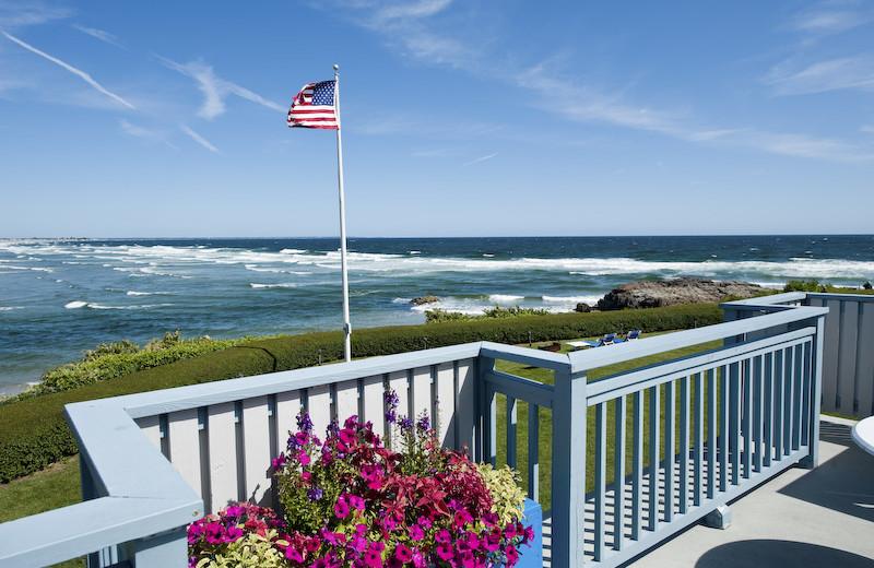 Ocean view at Beachmere Inn.