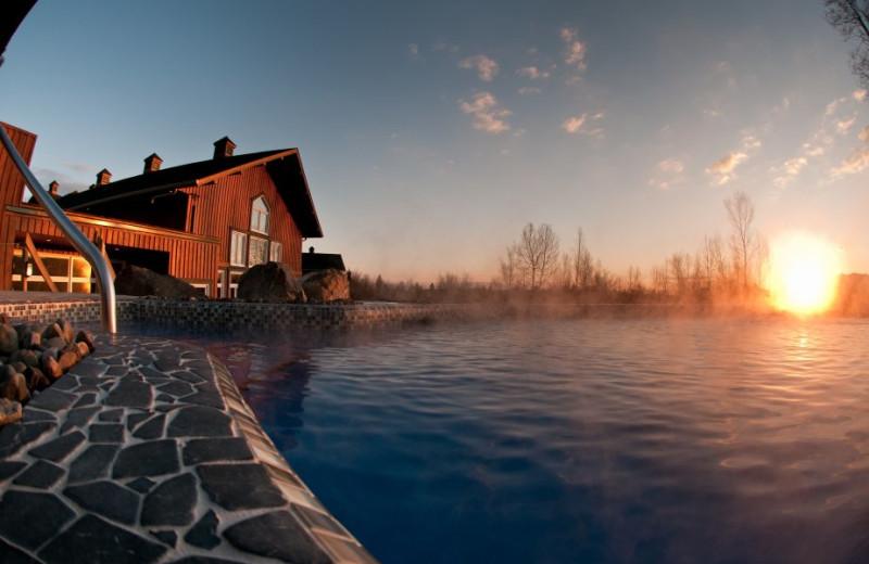 Outdoor pool at Spa Eastman Health & Wellness Retreat.