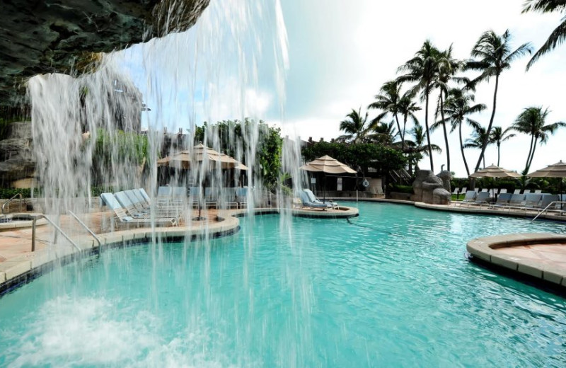 Pool at The Alexander All Suite Oceanfront Resort.