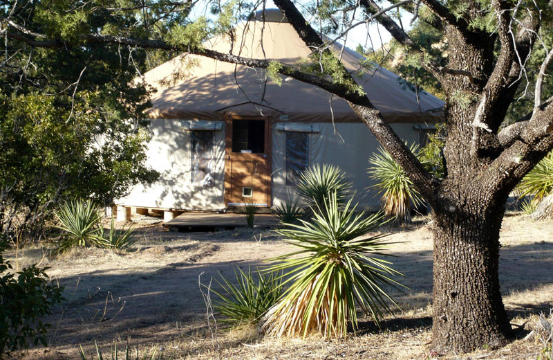 Exterior view of Cochise Stronghold Bed and Breakfast.
