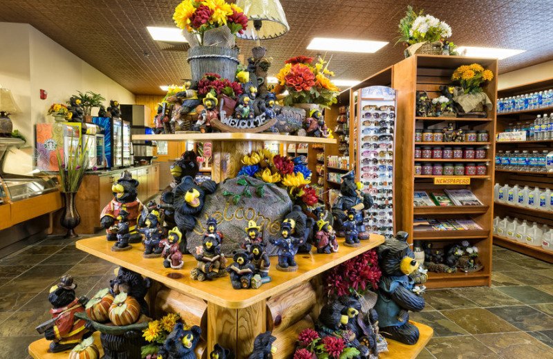 Gift shop at Westgate Smoky Mountain Resort & Spa.