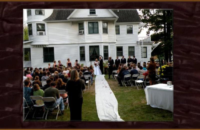 Weddings at Whistle Stop Inn Bed & Breakfast.